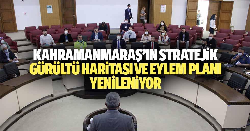 Kahramanmaraş'ın Stratejik Gürültü Haritası Ve Eylem Planı Yenileniyor
