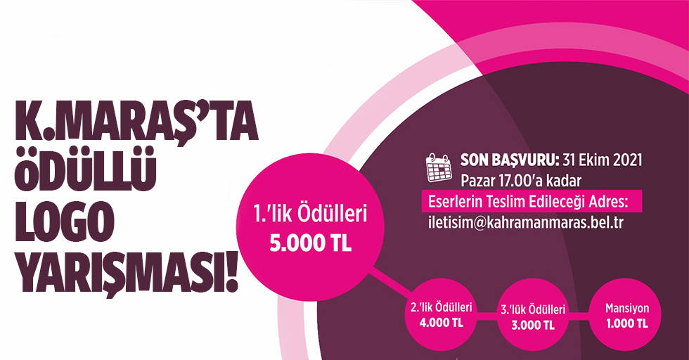 Kahramanmaraş'ta logo yarışması