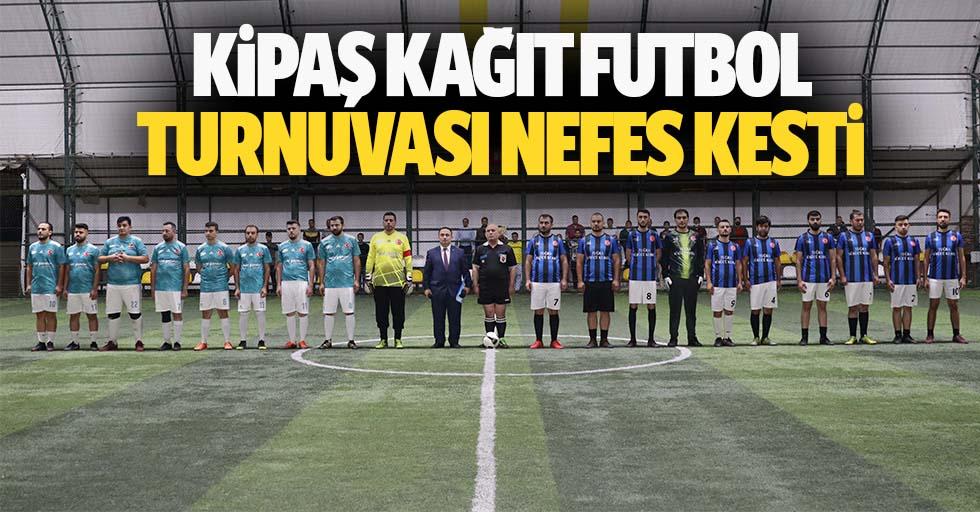 Kipaş Kağıt Futbol Turnuvası Nefes Kesti