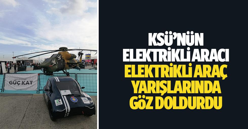 Ksü'nün Elektrikli Aracı Elektrikli Araç Yarışlarında Göz Doldurdu