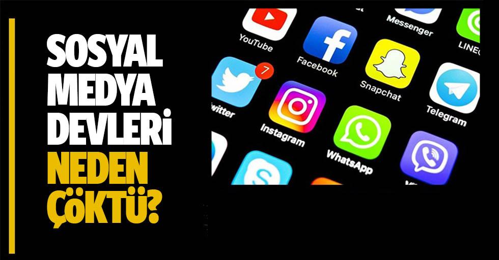 Sosyal medya devleri neden çöktü? İşte cevabı