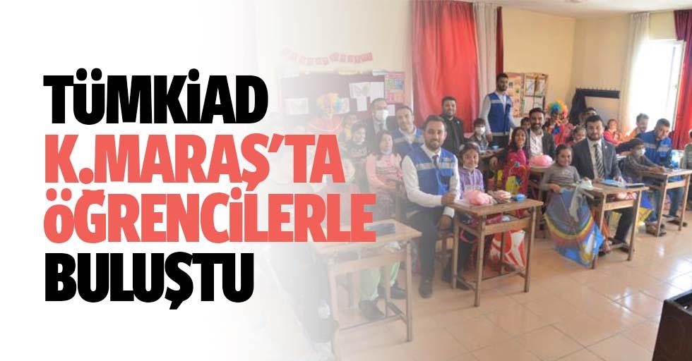 TÜMKİAD Kahramanmaraş'ta öğrencilerle buluştu