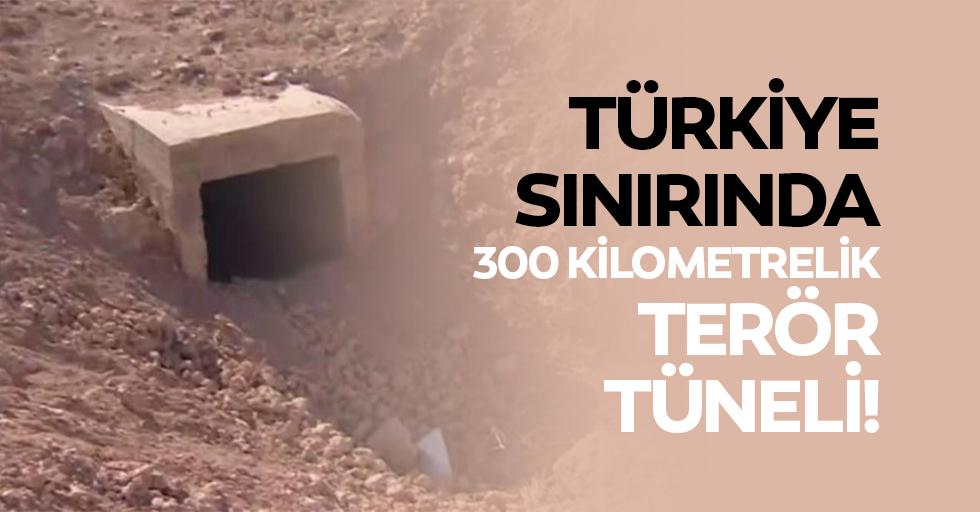Türkiye Sınırında 300 Kilometrelik Terör Tüneli