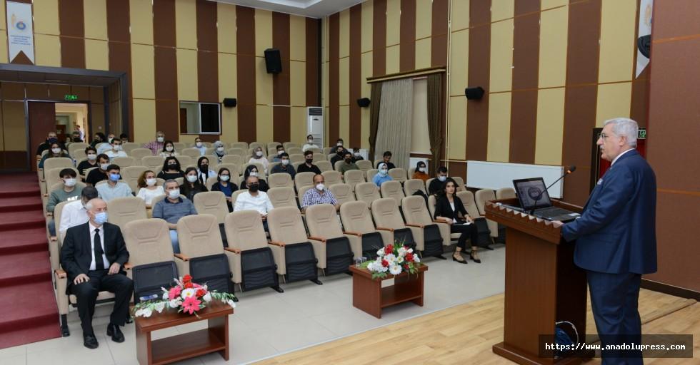 Ziraat Fakültesi Oryantasyon Eğitimi KSÜ Rektörü Can'ın Katılımıyla Gerçekleşti