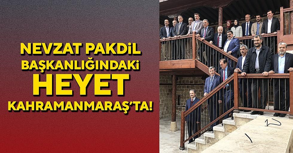 Türk Parlamenterler Birliği Heyeti Kahramanmaraş'ta