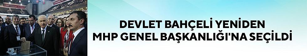 <b>Devlet Bahçeli Yeniden MHP Genel Başkanlığı&#039;na Seçildi</b>