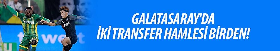 <b>Galatasaray&#039;da ikitransferhamlesi birden!</b>