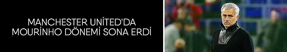 <b>Manchester United&#039;da Mourinho Dönemi Sona Erdi</b>