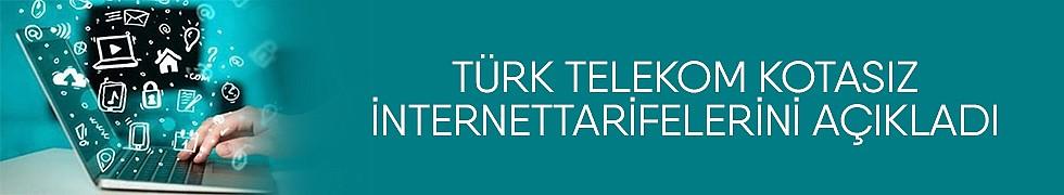 <b>Türk TelekomKotasızİnternet tarifelerini Açıkladı</b>