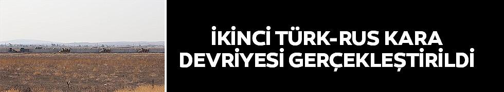 <b>İkinci Türk-Rus Kara Devriyesi Gerçekleştirildi</b>