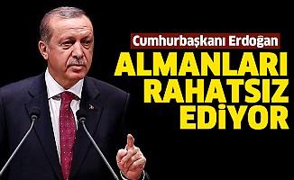 Cumhurbaşkanı Erdoğan Almanları rahatsız ediyor