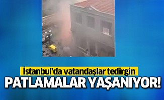 İstanbul'da patlamalar yaşanıyor