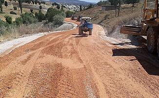 Pazarcık'ta Yol çalışmaları devam ediyor