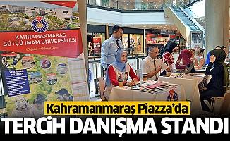 Piazza'da tercih danışma standı açıldı