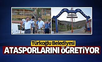 Türkoğlu Belediyesi Ata sporlarını öğretiyor