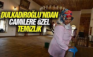 Dulkadiroğlu'ndan camilere özel temizlik