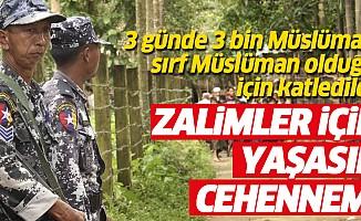 Müslüman olduğu için katledilen 3 bin Mazlum'un hakkını hangi Adalet Sistemi verecek!