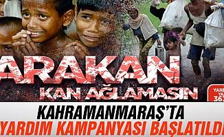 Kahramanmaraş'tan Arakan'a yardım eli