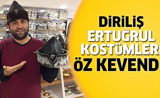 'Diriliş Ertuğrul' dizisi kostümleri, Özkeven'de