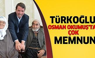 Türkoğlu, başkanından çok memnun