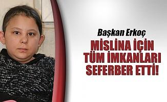 Başkan Erkoç, Mislina için tüm imkanları seferber etti!