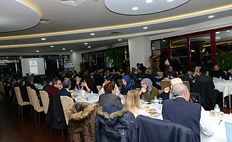 KSÜ Rektörü Deveci, Gazetecileri ağırladı!