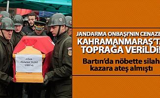 Jandarma Onbaşı Yıldız'ın cenazesi, toprağa verildi!