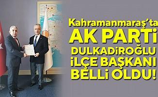 Ak Parti Dulkadiroğlu ilçe başkanı belli oldu
