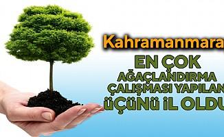 Kahramanmaraş Türkiye'de 3. Oldu!