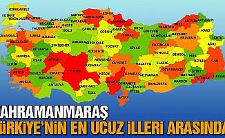 Kahramanmaraş, Türkiye'nin en ucuz illeri arasında!