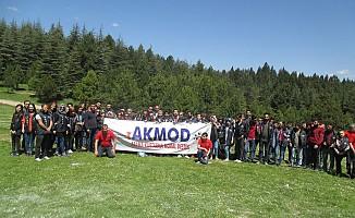 Akmod Gönüllüleri Kamp Yaptı