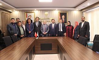 Müdürlerden Avşaroğlu'na Ziyaret