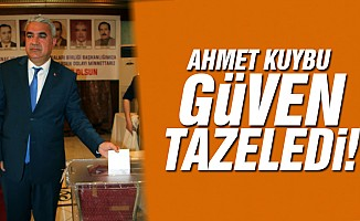 Ahmet Kuybu, yeniden başkan!