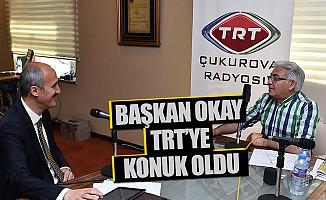 Başkan Okay, TRT Çukurova'nın Konuğu Oldu