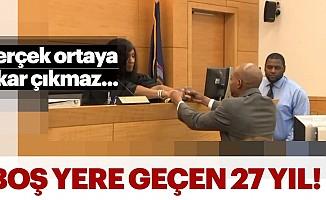 Boş Yere 27 Yıl Hapis Yattı