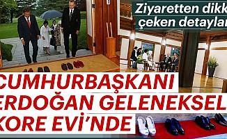 Cumhurbaşkanı ErdoğanGelenekselKore Evi'nde