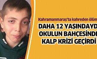Kalp krizi geçiren çocuk öldü!