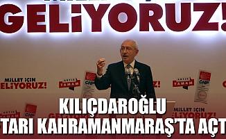Kılıçdaroğlu, iftarı Kahramanmaraş'ta açtı!