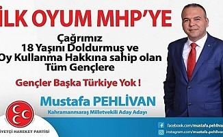 Pehlivan'dan ilk oyum MHP 'ye Projesi