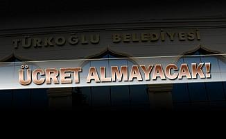 Türkoğlu Belediyesinde Artık Ücretsiz