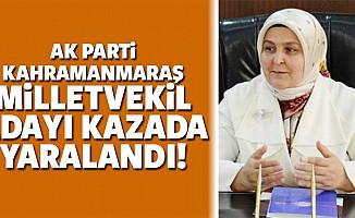 Ak Parti Kahramanmaraş milletvekil adayı, kazada yaralandı!