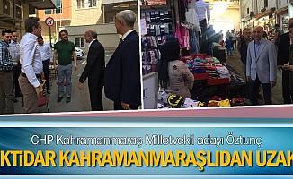 """CHP Kahramanmaraş Milletvekili adayı Öztunç: """"İktidar Kahramanmaraşlıdan uzak"""""""