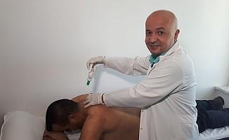 Elbistan Devlet Hastanesinde Hacamat Polikliniği Açıldı
