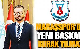 1920 Maraşspor'da Yeni Başkan: Burak Yılmaz