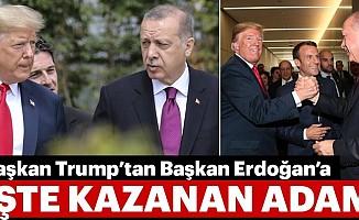 ABD Başkanı Trump'tan Başkan Erdoğan'a İşte Kazanan Adam