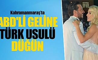 ABD'li geline Türk usulü düğün
