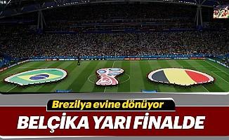 BelçikaBrezilya'yı 2-1 mağlup ederek yarı finale yükselen 2. Takım oldu