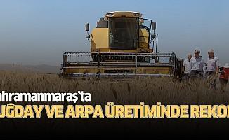 Buğday ve arpa üretiminde rekor!