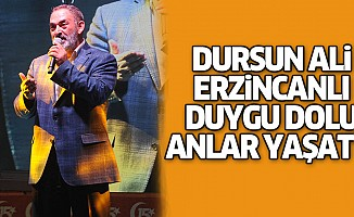 Dursun Ali Erzincanlı Kahramanmraş'ta Duygu Dolu Anlar Yaşattı