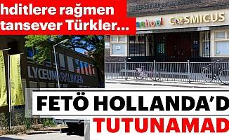 Hollanda'daFetöOkulları Tutunamıyor
